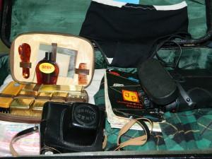 Časť cestovného batohu