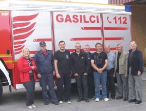 Hasiči z Kovačice v spoločnosti hostiteľov v Ruše, bez hasičskej rovnošaty a v nádhernej prírode slovinského severu