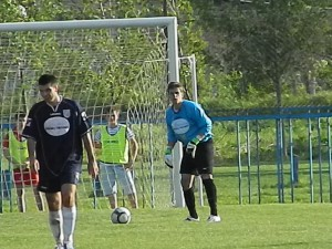 Skvelý brankár: Aleksandar Radaković (Mladosť Petrovec) (Foto: J. P.)