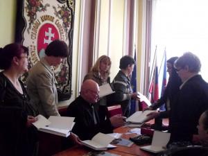 Zo stretnutia s predsedom Matice slovenskej Mariánom Tkáčom