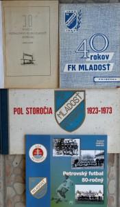 Publikácie o petrovskom futbale