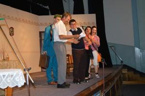 Predstavenie bolo plné komických situácií