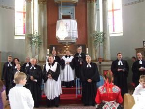 Kňazi spoločne zaspievali Otčenáš