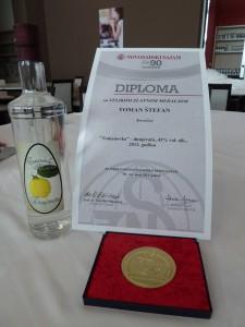 Veľká zlatá medaila Novosadského veľtrhu 2013 pre dulovicu