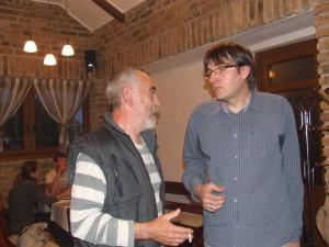 O románe, ale aj komiksových albumoch hovorili Predrag Ðurić a Dragica Pantićová (prvá zľava)