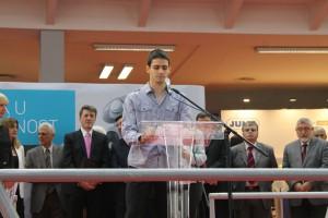 Z pondelkového otvorenia: Vukašin Stojisavljević