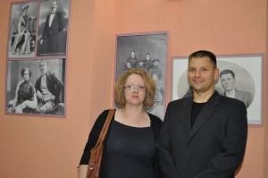 Poznáte ich? Sú to autori výstavy z muzeálnej zbierky starých fotografií: Anna Séčová-Pintírová a Marijan Pavlov
