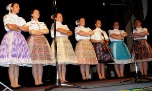 Sláviky zaspievali zmes nových nacvičených slovenských ľudových piesní