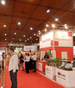 Na stánku Chorvátskej hospodárskej komory sa predstavilo viac ako 20 chorvátskych firiem