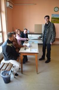 Z nedeľňajších volieb v Selenči