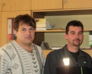 V MS Pivnica: Jaroslav Zajac (zľava) a Ondrej Blažek