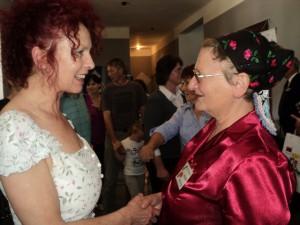 Katarína Ušiaková privítala Annu Tomanovú-Makanovú