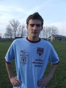 Strelec posledného gólu v sezóne: Darko Pavlov (Kriváň Selenča) (Foto: J. P.)