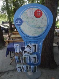 Rekreačná turistika − prezentácia cyklistickej Dunajskej cesty