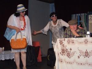 Komické vyvrcholenie: Ďuro Cesnak s nevestami Selmou a Hurem