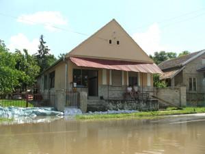 Dunaj dobiedzal do rodinných domov