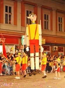Účastníci karnevalu zabavili tisíce návštevníkov