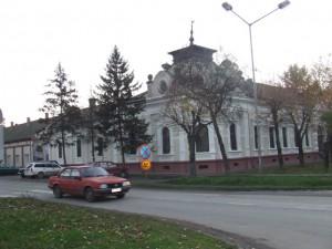 Budova lokálnej samosprávy v Plandišti