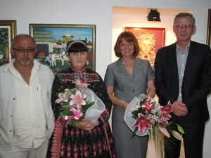 Kytice patrili hostkám nielen pre podujatie venované kvetom