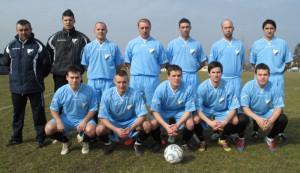 Futbalisti Slávie s trénerom Zlatkom Mršulovom