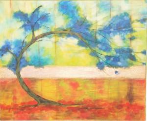 Strom, alebo akvarel z Bajše