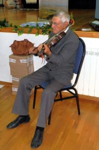 Dobanovský huslista Adam Kulík