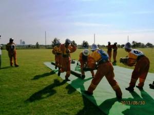 Rýchlosť a presnosť: Aradáčanky počas suchého cvičenia