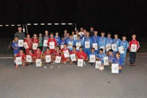 Najúspešnejší pionieri nočného turnaja v malom futbale