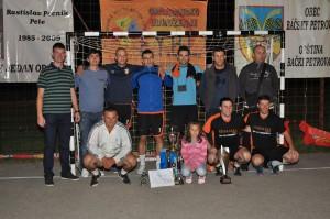 Víťaz turnaja Rastislava Pecníka-Peleho 2013: mužstvo Mimada z Nového Sadu