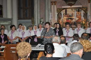 Katarína Melegová-Melichová: – Štrnásť rokov si v Petrovci uctievame odkazy Cyrila a Metoda.