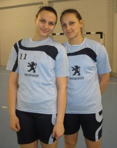 Postrach pre brankárky: sestry Jelena a Marija (zľava)