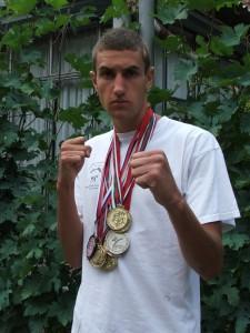 Igor Bagoňa s medailami