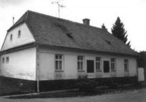 Evanjelická fara v Hlbokom, kde pôsobil Dr. J. M. Hurban