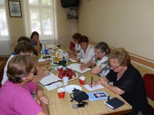 Momentka zo zasadnutia v Starej Pazove