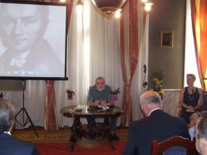 Profesor Samuel Boldocký mal prednášku o P. J. Šafárikovi