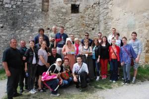 Momentka na zapamätanie zo Spišského hradu, ktorý je najväčším stredovekým hradom v strednej Európe