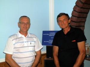 Dobrí spolupracovníci: Ján Macho (zľava) a Ján Alexa