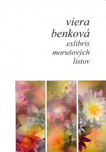 Titulná strana novej zbierky básní Viery Benkovej