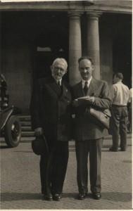 Vladimír Vereš s protom Milanom Smiljanićom