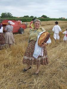Konečný výsledok – chlieb upečený v sedliackej peci najlepšie chutí