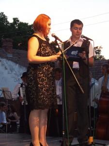 Osvedčená moderátorská dvojica: Marína Kušniarová a Ivica Grujić Litavský moderovali všetkých 6 ročníkov festivalu