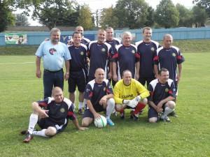 Víťazné mužstvo poľského CSW Kozy