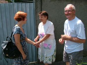 Čoskoro sme znovu u vás, sľubujeme manželom Kuchárikovcom (foto: Oto Filip)