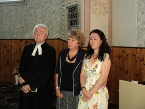 S manželkou Markou a dcérou Vladislavou