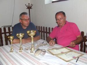 O úspešný priebeh súťaže sa postarali Janko Bujzáš a Ratko Pašić