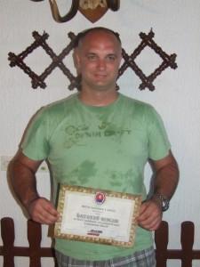 Najmladší strelec: Nenad Đermanov z Nového Sadu
