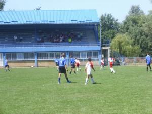 Zo zápasu najmladších futbalistov vo Vrbare