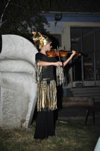 Vystúpenie pred premiérou – huslistka Daniela Víziová