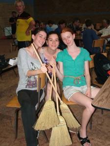 Vrbašanky Milica, Jelena a Jasmina Milivojevićové si s bodmi odniesli domov i petrovské metly
