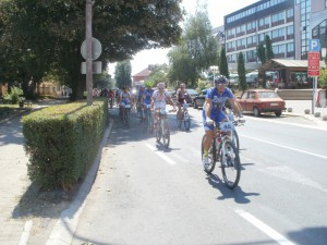 Cyklisti prudko vyrazili zo štartu